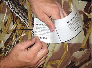 Tear-Aid Wader Repair Application Camo Type A