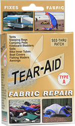 see-thru fabric repair patches