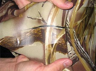 Acrylics Fiberglass Aluminum Polyester Hypalon Dacron repair patches