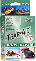 ... vinyl fixes see-thru patches. REPAIR KIT  sc 1 th 250 & TEAR-AID® Repair Patch Official Site - For Fabric And Vinyl Repairs
